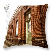 Museum Side Up Throw Pillow