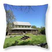 Musgrove Mill Sc State Historic Site Throw Pillow by Kelly Hazel