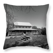 Musgrove Mill South Carolina State Historic Site Throw Pillow by Kelly Hazel