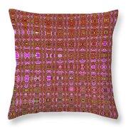 Mushroom # 7979 Abstract Throw Pillow