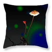 Mushroom 1 Throw Pillow