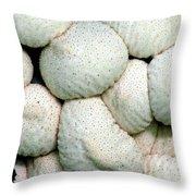 Mushroom Cluster Throw Pillow