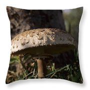 Mushroom II Throw Pillow