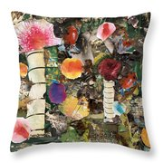 Mushroom Throw Pillow