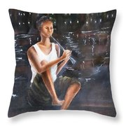 Music  By  The  Night Throw Pillow
