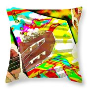 Music Creation Throw Pillow