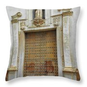 Music Door Cadiz Throw Pillow