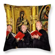 Music For Mary Throw Pillow