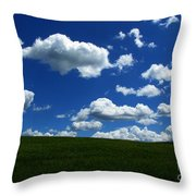 Music For Your Eyes Throw Pillow