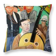 Music In The Park Throw Pillow