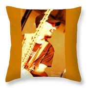 Music Is Joyful Noise Throw Pillow