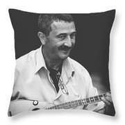 Music Makes People Happy Throw Pillow