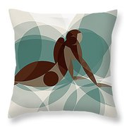 Music Of The Spheres #1 Throw Pillow