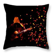 Musical Appirition Throw Pillow