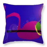 Musical Breakdown Throw Pillow