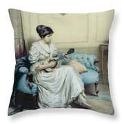 Musical Interlude Throw Pillow