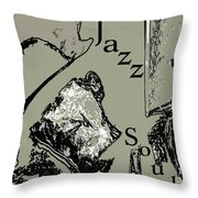 Musical Self Throw Pillow