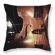 Musical Talent Throw Pillow