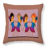 Musical Theatre Number Throw Pillow