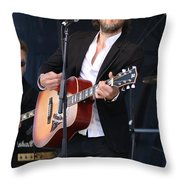 Musician Simone Felice Throw Pillow