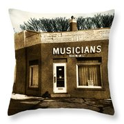 Musicians Local 67 Throw Pillow
