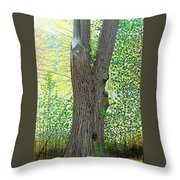 Muskoka Maple Throw Pillow