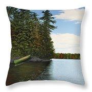 Muskoka Shores Throw Pillow