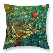 Musky- Chasin Throw Pillow
