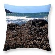 Mussels Throw Pillow