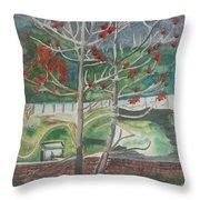Mussorie_foothills Throw Pillow
