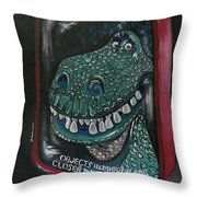Must Go Faster Throw Pillow