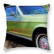 Mustang Memories - 1 Throw Pillow