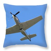 Mustang Overhead Throw Pillow