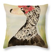 Musvovy Watercolor Throw Pillow