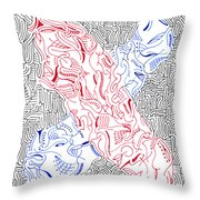 Mutation Throw Pillow