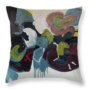 Mute Speed Throw Pillow