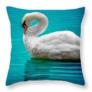 Mute Swan 4 Throw Pillow