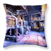 Mute Testament Throw Pillow