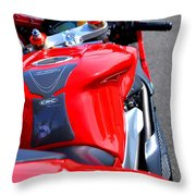 Mv Agusta - Color Throw Pillow