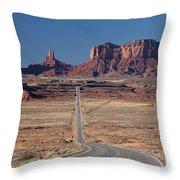 Mv Forest Gump View 7678 Throw Pillow