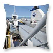 Mv Highlanders Throw Pillow