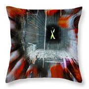 My Affliction Throw Pillow by Luke Moore
