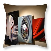 My Art On The Wall Throw Pillow
