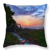 My Atlantic Dream Throw Pillow