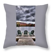 My Autumn View Throw Pillow