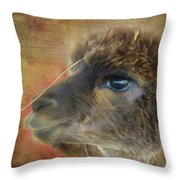 My Best Side Profile Throw Pillow