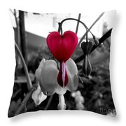 My Bleeding Heart Throw Pillow
