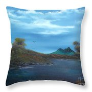 My Blue Heaven Throw Pillow