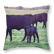 My Calf Throw Pillow