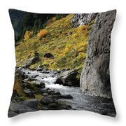 My Calm Place Throw Pillow